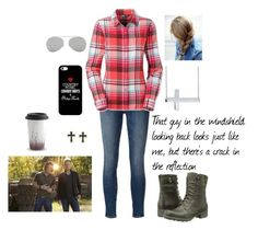 """""""Confession - Florida Georgia Line"""" by beleg-teleri ❤ liked on Polyvore featuring Frame Denim, The North Face, Cobb Hill, Belk & Co., Casetify, Acne Studios, SO, Wedgwood, country and confession"""