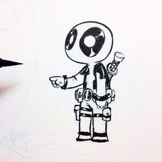 skottie young deadpool drawings - Google Search