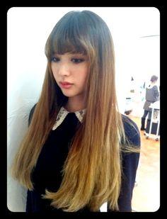 gawd, i love emi suzuki's new hair. maybe i should get bangs...