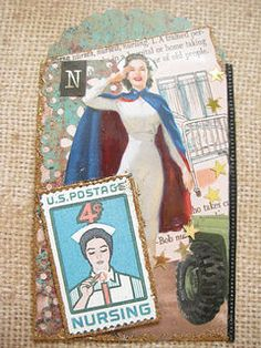 N is for...Nurse ATC | by Donetta's Beaded Treasures