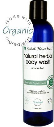 Herbal Choice Mari Body Wash mw Organic Unscented 236ml 8oz *** You can get more details by clicking on the image.