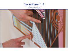 タッチすると音が鳴る?!インタラクティブなポスター「Sound Poster」