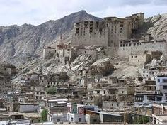 17th century royal palace, Leh, Ladakh. Astrogeographic position: located in the magnetic roayal fire sign Leo and the highly profitable earth sign Taurus. Valid for field level 3.