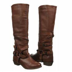 NAUGHTY MONKEY Desperado Boots (Tan Leather) - Women's Boots - 9.0 M