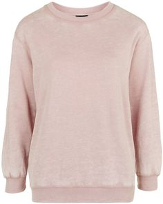 Womens dusty pink petite super-soft sweater from Topshop - £25 at ClothingByColour.com Pink Fashion, Dusty Pink, Topshop, Sweatshirts, Makeup, Sweaters, T Shirt, Clothes, Color