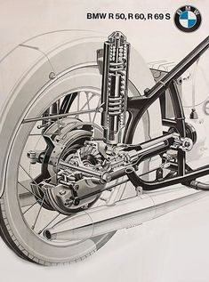 Progress is fine, but it's gone on for too long. Bike Bmw, Bmw Motorcycles, Motorcycle Bike, Vintage Motorcycles, Bmw Vintage, Vintage Bikes, Motos Bmw, Moped Scooter, Bmw Boxer