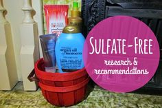 Hey There Ray: Sulfate-Free: Research & Recommendations