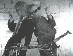 Steve Clark and Phil Collen of Def Leppard Def Leppard, Steve Clarke, Phil Collen, Rick Savage, Joe Elliott, Greatest Rock Bands, Stevie Ray Vaughan, Wattpad, David Gilmour