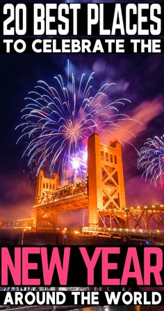 Have any New Year wishes to be abroad and celebrating it in style? Here are 20 New Years ideas on where to celebrate around the world to give you all the New Years inspiration you need! Let New Years 2019 be the most memorable one yet! Winter Travel, Holiday Travel, Christmas Travel, Amazing Destinations, Travel Destinations, Holiday Destinations, Silvester Trip, Prague Travel, Travel Necessities