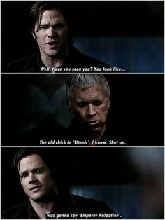"""""""The Curious Case of Dean Winchester"""" (I've always thought the actor who played """"old Dean"""" in this episode did a GREAT job...Does anyone know his name?)"""