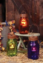 GARDEN LIGHT CANDLE JAR