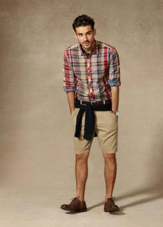 Tie goes perfect with the shorts | Fashion | Pinterest | Man style ...