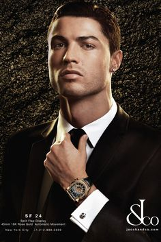 Cristiano Ronaldo Fronts New Jacob & Co. Watch Campaign - Slideshow - WWD.com
