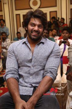 Arya at Nayyappudai Teaser Launch
