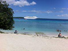 Lifou, New Caledonia via P Cruise Australia