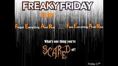 Freaky Friday #mentoring Fear Has Two Meanings, Meant To Be, Friday, Face, Faces
