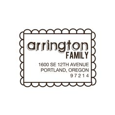 Custom Address  Stamp Personalized Rubber Stamp by sweetpaperie, $23.95