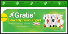 Gratis Heavenly Blush Yogurt, 1-31 Januari 2015