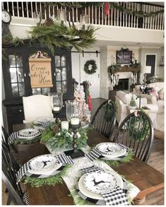 Sharing several christmas holiday table setting ideas in this post simple christmas table settings christmas table scape ideas holiday entertaining holiday table festive table decor decorating our table for christmas christmas dinner table ideas Farmhouse Christmas Decor, Christmas Kitchen, Rustic Christmas, Christmas Home, Christmas Holidays, Cheap Christmas, White Christmas, Christmas Cactus, Christmas Dining Rooms