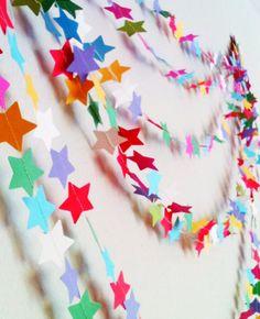 Star garland ☆