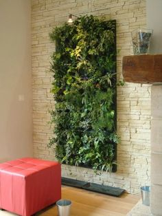 add greenery to your interior space using vertical gardens u interior design design news and trends