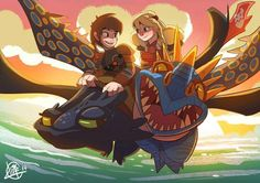 Ahh so cuteee like Hiccup♥Astrid Toothless♥Stormfire