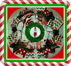 Elf on the Shelf From Crazy Lady Bows on BOTH Etsy and Facebook!