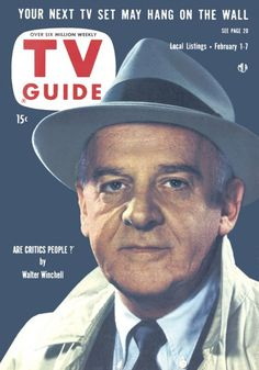 TV Guide, February 1, 1958 - Walter Winchell
