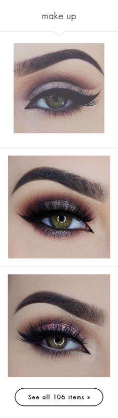 """make up"" by caylaosuigwe ❤ liked on Polyvore featuring beauty products, makeup, eye makeup, eyes, beauty, hair and makeup, bellezza, eyeshadow, makeup/nails and palette eyeshadow"