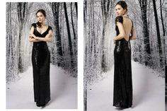 vestido largo lentejuelas invierno 2015 - Penny Love