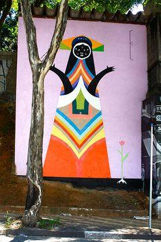 Street art | Mural (Pinheiros, São Paulo, Brazil, 2011) by Speto