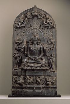 Seated six-armed Shiva as Conquerer of Death (Mrtyunjaya) [Bangladesh or India (west Bengal)] (1991.421) | Heilbrunn Timeline of Art History | The Metropolitan Museum of Art