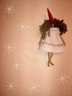 it`s snowing,a new year fairy / sona handmade dolls