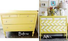 10 Great DIY Furniture Transformations via sasinteriors.net