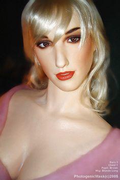 Femdom female face mask
