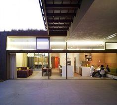 Yin-Yang House by Brooks + Scarpa Architects