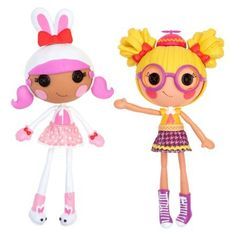 Lalaloopsy Workshop Bunny/ Nerd Double Pack. I so want The Nerd!