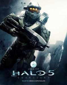 Halo 5 Master Chief by OverclockedPrinting on Etsy Halo 5, Halo Game, Video Game Art, Video Games, John 117, Halo Armor, Halo Spartan, Halo Master Chief, Halo Series