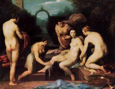 Bathsheba- Cornelis van Haarlem