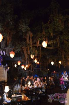The Blue Bayou, eat and dine in Disney's Pirates of the Caribbean ride