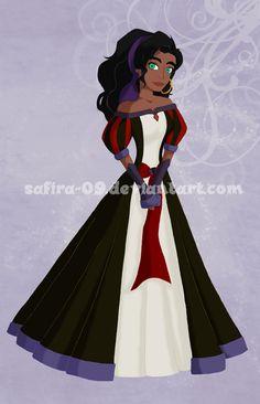 Villain-Princess 1 : Esmeralda by Safira-09.deviantart.com