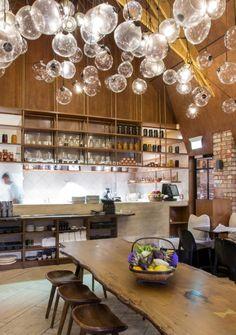 Ortolana Restaurant, New Zealand by Cheshire Architects