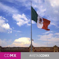 #CDMX #CentroHistórico #Bandera #ArquitecturaCDMX #Vistas #PalacioNacional