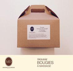 Trousse Fabrication de Bougies massage de la boutique SavonnerieMNDA sur Etsy