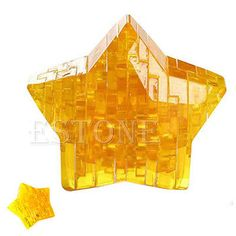 3d star #shaped crystal puzzle #jigsaw #model diy intellectual toy gift furnish,  View more on the LINK: http://www.zeppy.io/product/gb/2/131354932344/