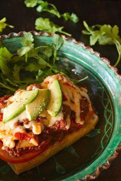 Chorizo Enchilado Melt with Cacique Beef Chorizo and Enchilado Cheese
