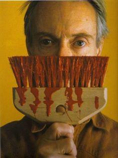 Roy Lichtenstein by Abe Frajndlich, New York, 1985