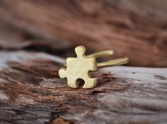 Puzzle Ring / Puzzle Piece Ring / Jigsaw Ring / Best by Bubblebox