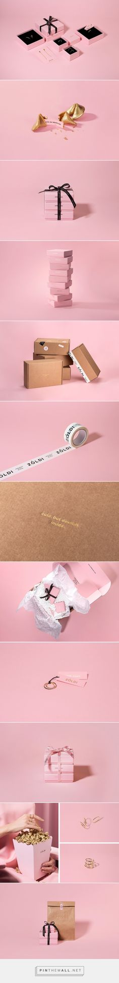 Zoldi Jewels packaging design by F61 Work Room - http://www.packagingoftheworld.com/2017/10/zoldi-jewels.html