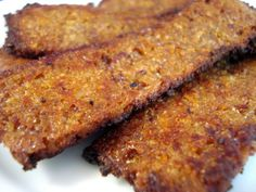 A recipe for perfect homemade vegan bacon that tastes remarkably like the real thing!